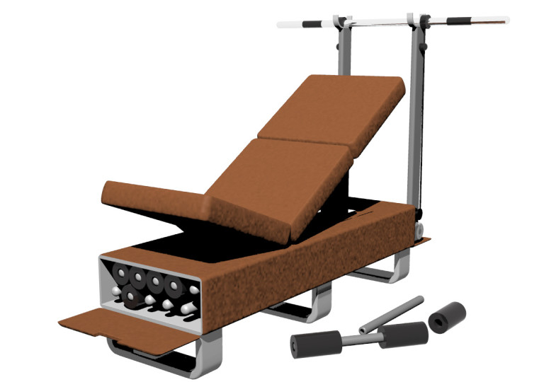 Life Fitness Otto-Bench